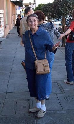 Mom in SF - the look